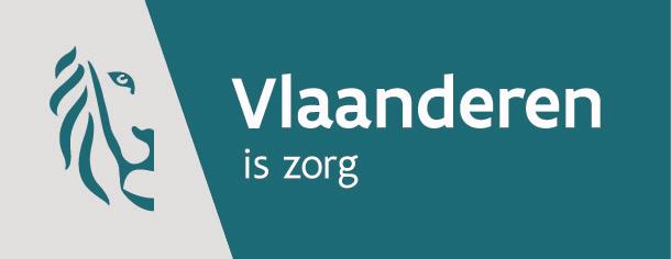 Vlaanderen is zorg logo